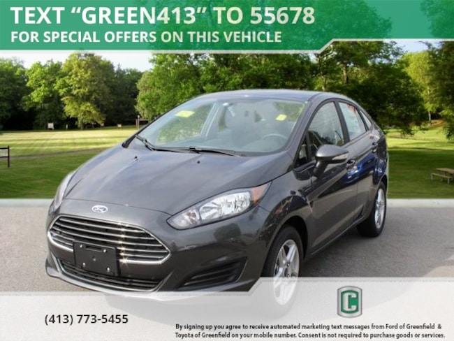 New 2018 Ford Fiesta SE Sedan in Greenfield, MA