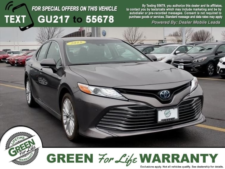 Green Toyota Springfield Il >> Used 2018 Toyota Camry For Sale In Springfield Il