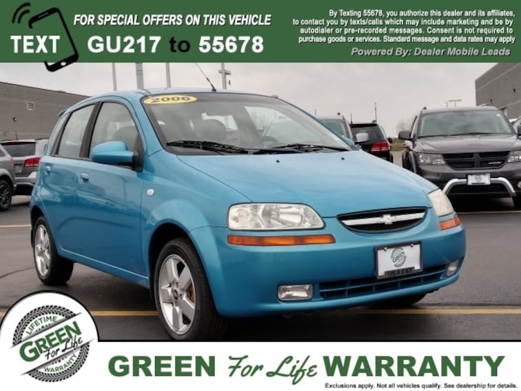 Used  2006 Chevrolet Aveo LT Hatchback in Springfield, IL