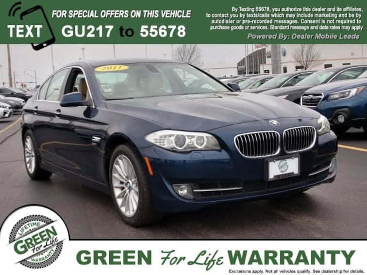 Used  2011 BMW 5 Series 535i Xdrive Sedan in Springfield, IL
