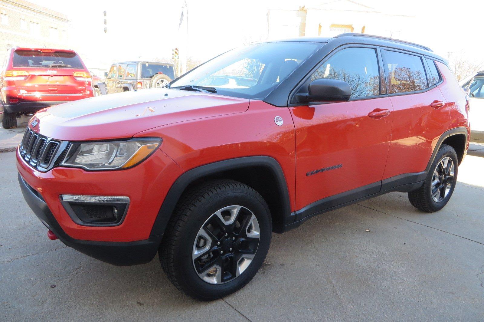 2017 Jeep Compass Trailhawk Trailhawk 4x4