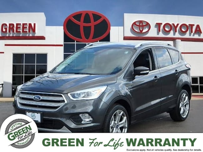 2018 Ford Escape Titanium 4x4 w/ Leather & Sunroof SUV 4WD