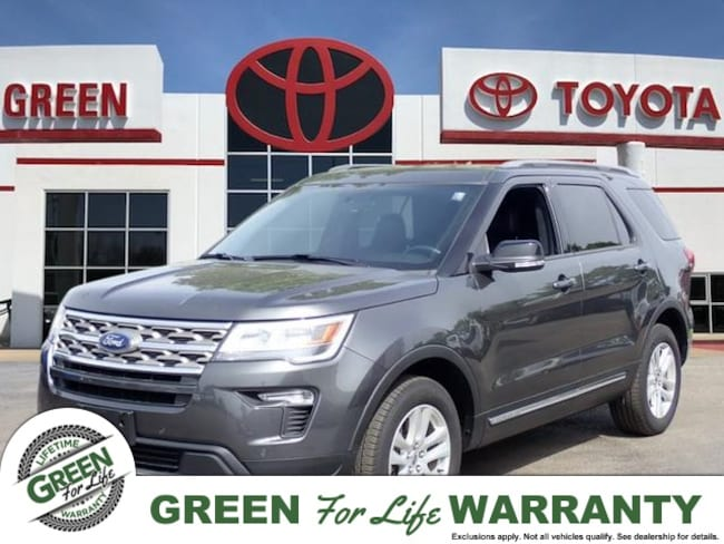 2018 Ford Explorer XLT 4x4 w/ Leather & Backup Camera SUV 4WD