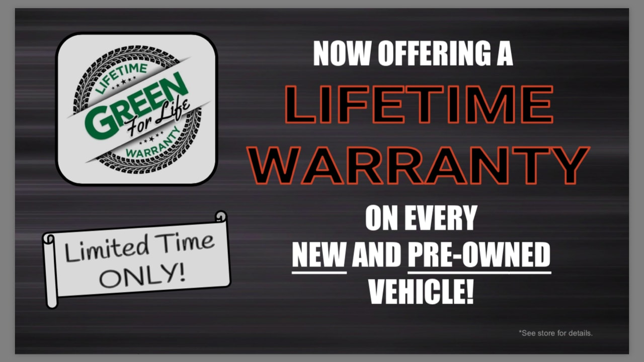 Green For Life   Lifetime Warranty