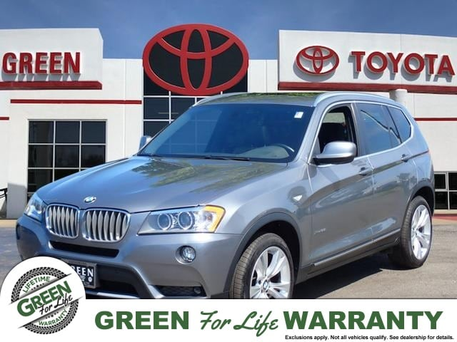 2012 BMW X3 Xdrive35i AWD w/ Leather & Sunroof SUV AWD