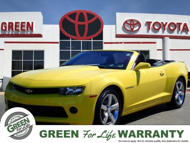 2015 Chevrolet Camaro 1LT Convertible w/ Bluetooth & Navigation Convertible