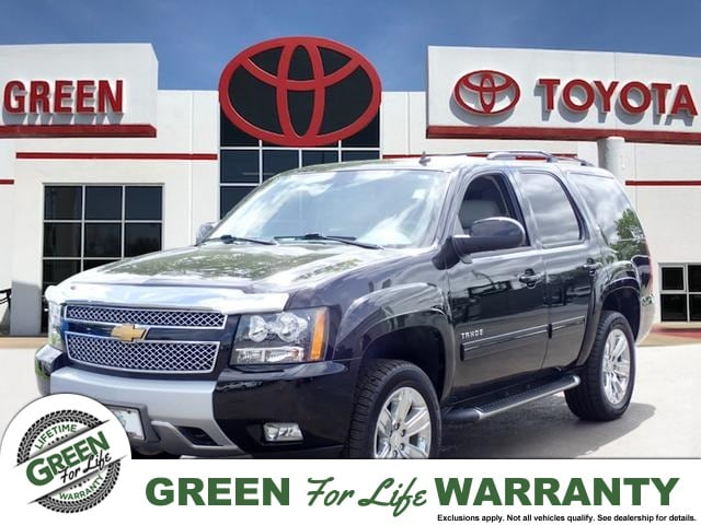 2014 Chevrolet Tahoe LT V8 4x4 w/ Leather & Sunroof SUV 4WD