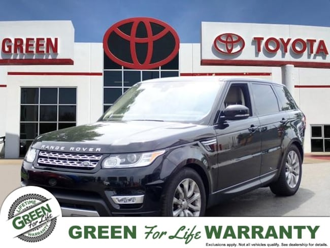 2017 Land Rover Range Rover Sport HSE w/ Leather, Sunroof & Nav SUV AWD
