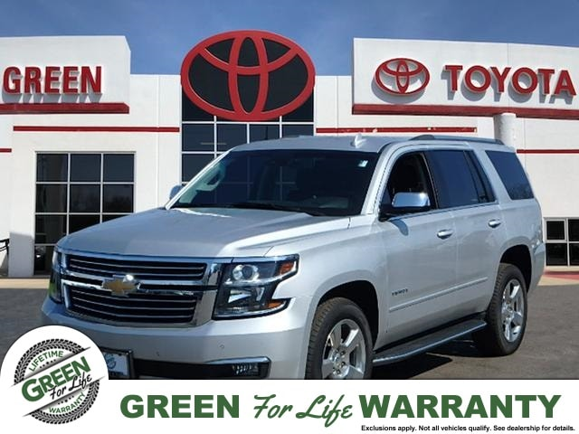 2018 Chevrolet Tahoe Premier w/ Leather & 3rd Row SUV 4WD