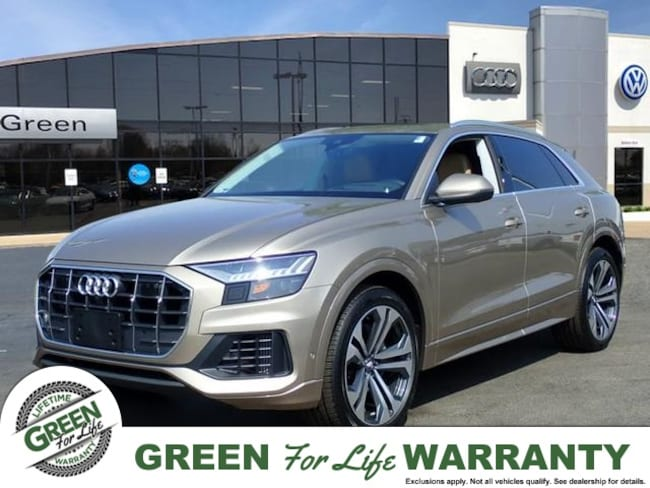 Green Family Stores >> New 2019 Audi Q8 For Sale At Green Family Stores Vin
