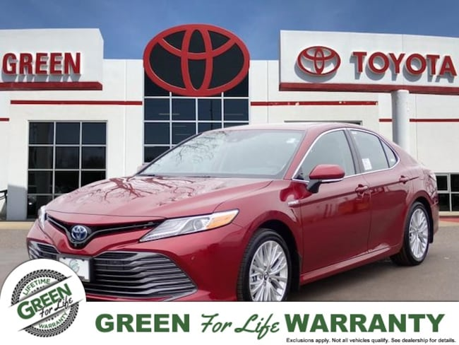 New 2019 Toyota Camry Hybrid For Sale At Green Family Stores Vin