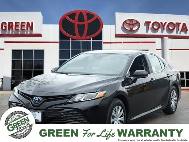 Green Family Stores >> New 2019 Toyota Camry Hybrid For Sale At Green Family Stores Vin