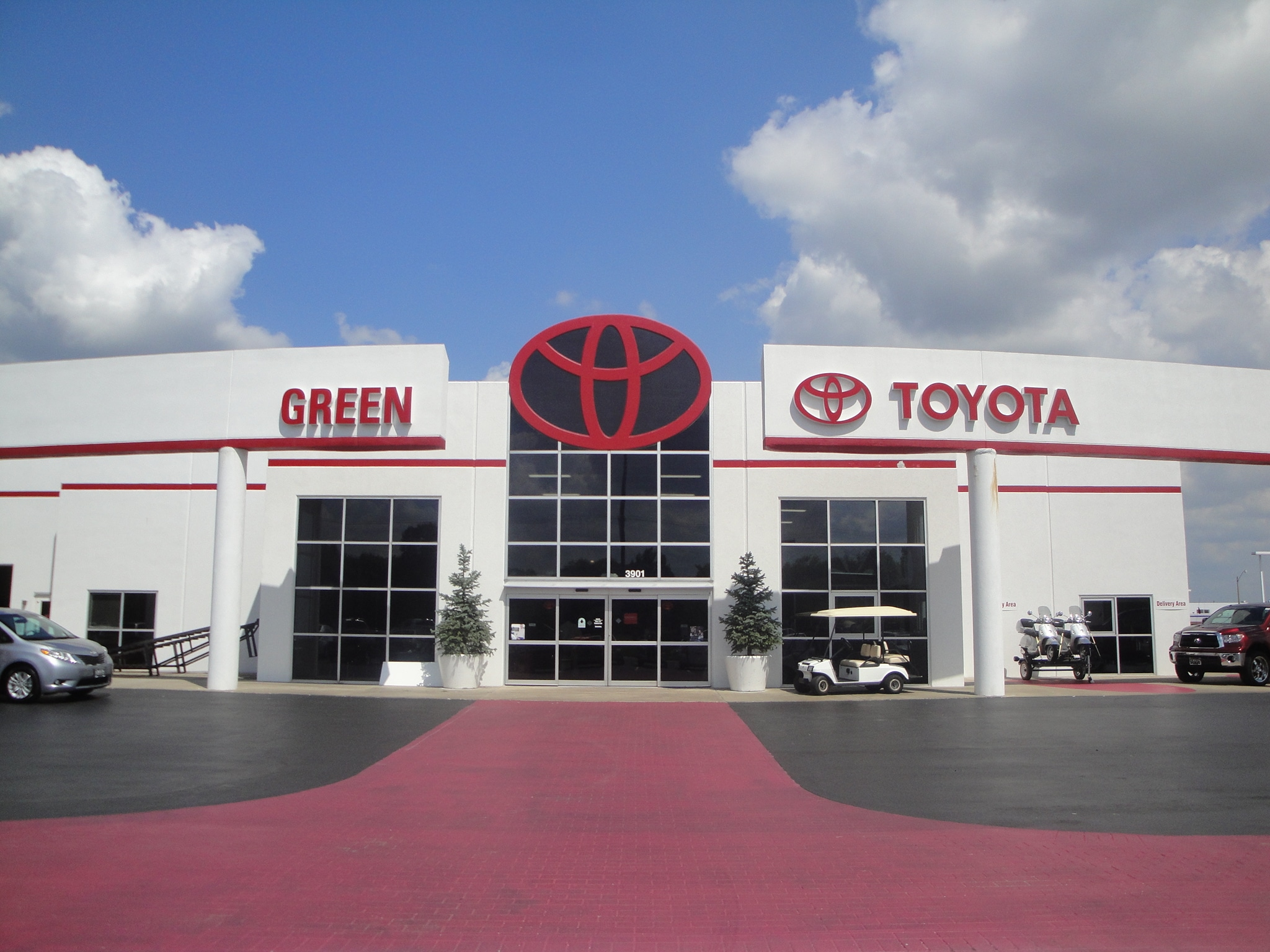 contact  green toyota volkswagen audi