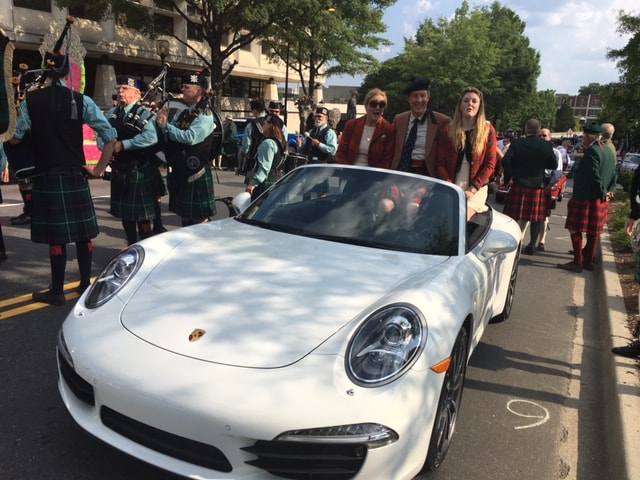 Jaguar Land Rover Porsche Volvo Of Greenville Recently Took Part The  Greenville Scottish Games Which Anchors Gallabrae Over Memorial Day Weekend.