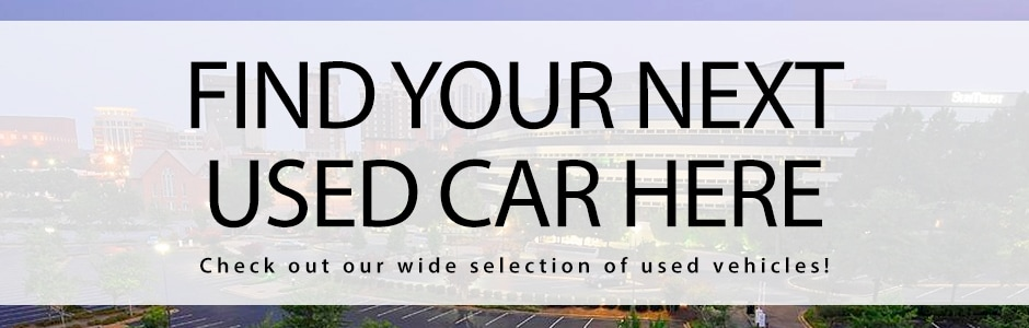Find Used Cars In Greenville SC