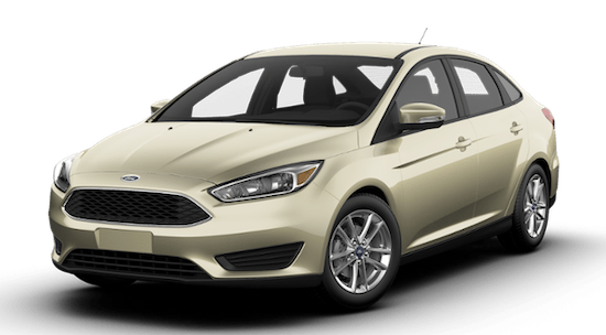 2018 Gold Ford Focus