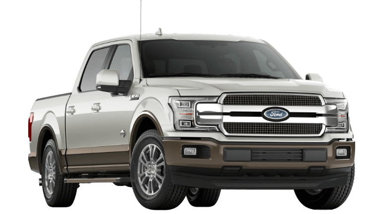 2019 White Ford F-150 King Ranch