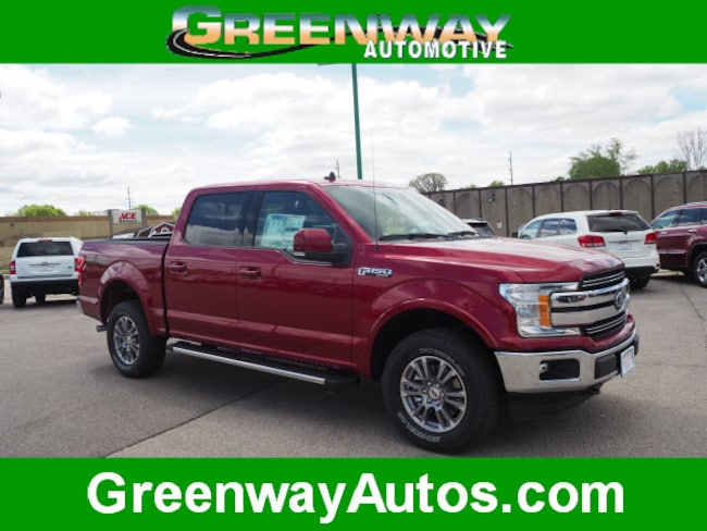 2019 Ford F-150 Lariat 4x4 Lariat  SuperCrew 5.5 ft. SB