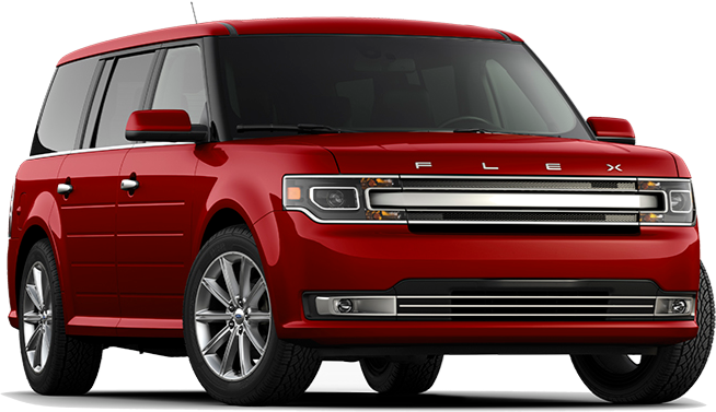 2019 Red Ford Flex