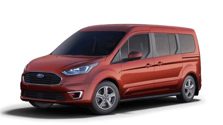 2019 Red Ford Transit Connect