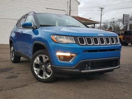 Featured New 2021 Jeep Compass LIMITED 4X4 Sport Utility for Sale in Cortland, OH