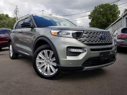 Featured Used 2020 Ford Explorer Limited Limited 4WD for Sale near Youngstown, OH