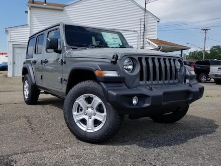 Featured New 2021 Jeep Wrangler UNLIMITED RHD Sport Utility for Sale in Cortland, OH
