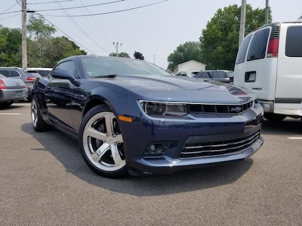 Featured Used 2015 Chevrolet Camaro SS Coupe for Sale near Youngstown, OH
