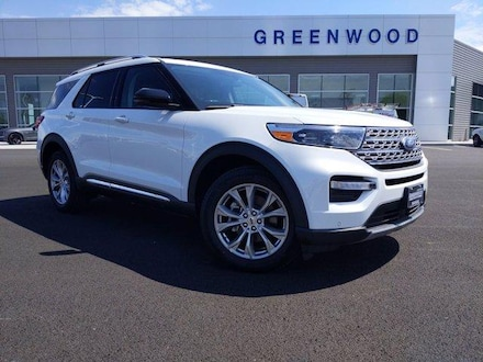 2021 Ford Explorer Limited SUV AWD