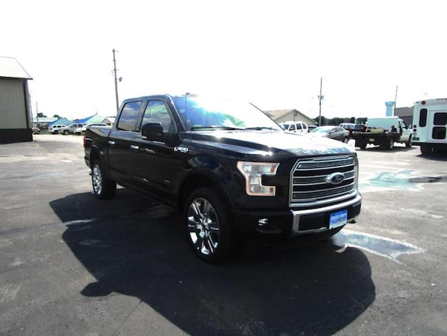 2017 Ford F-150 Limited Crew Cab Short Bed Truck