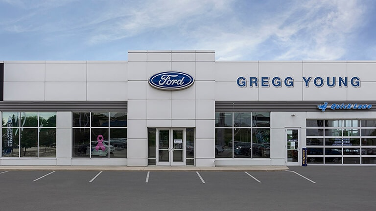 Gregg Young Ford Store Front