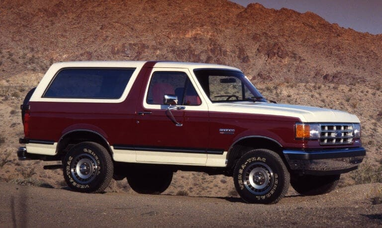 Ford Bronco 4th Generation