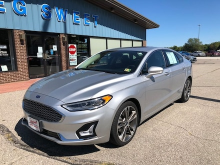 Featured used 2019 Ford Fusion Titanium Sedan for sale in Conneaut, OH