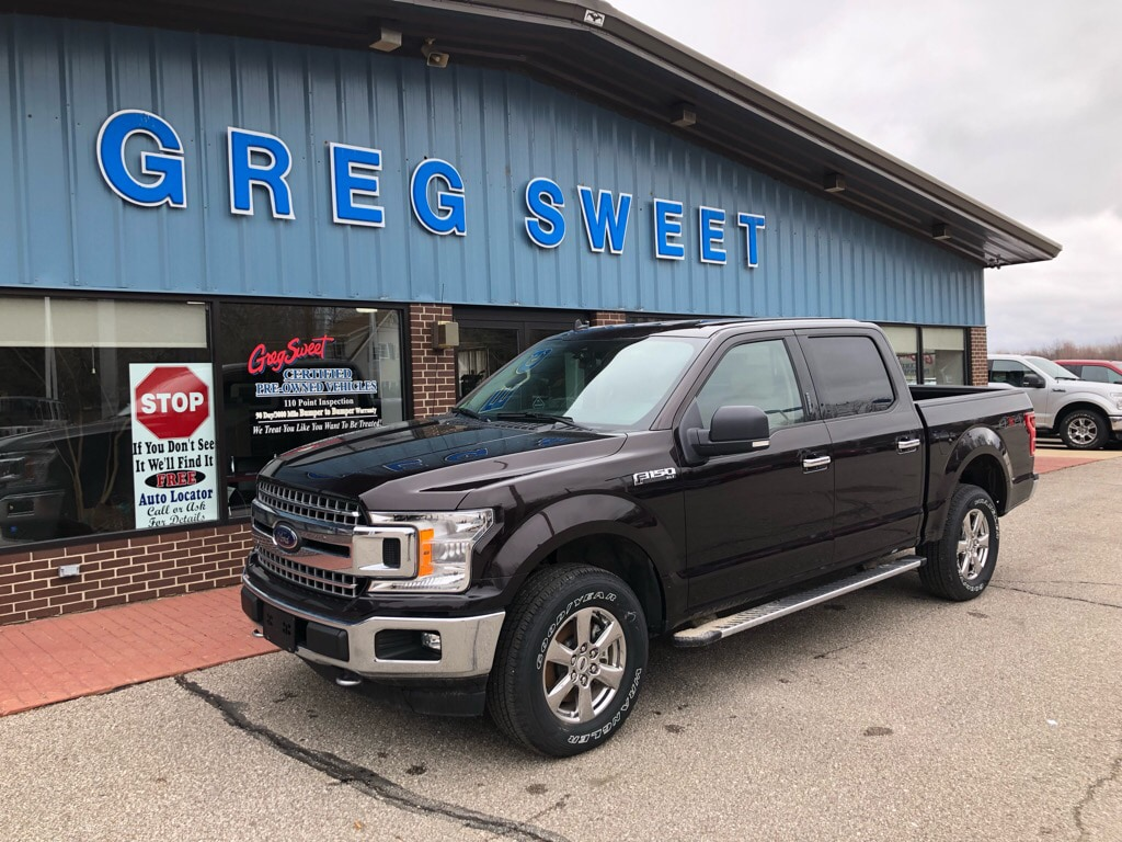 Featured used 2019 Ford F-150 XLT Crew Cab Short Bed Truck for sale in Conneaut, OH