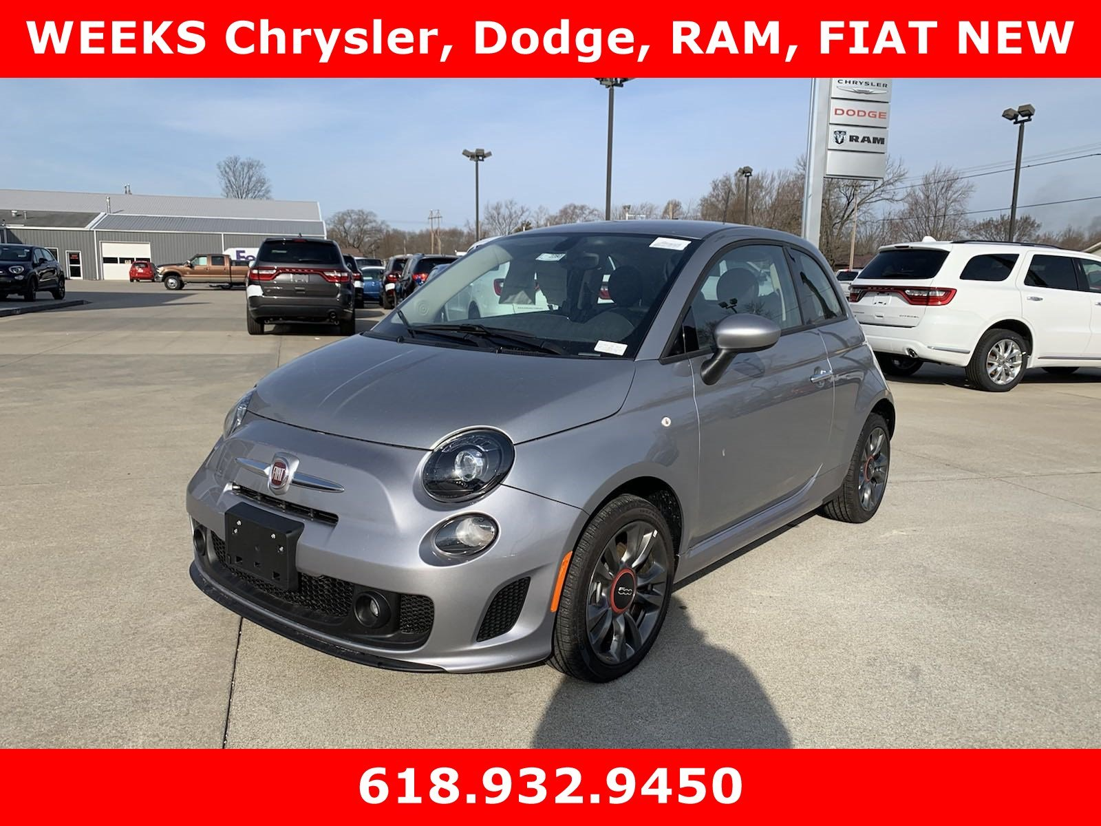 Featured new  2018 FIAT 500 POP Hatchback for sale in West Frankfort, IL.