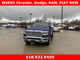 New 2019 Ram 1500 LARAMIE CREW CAB 4X4 5'7 BOX Crew Cab 972287 for sale in West Frankfort, IL