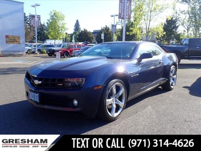 Used 2010 Chevrolet Camaro LT w/1LT LT  Coupe w/1LT Near Vancouver WA