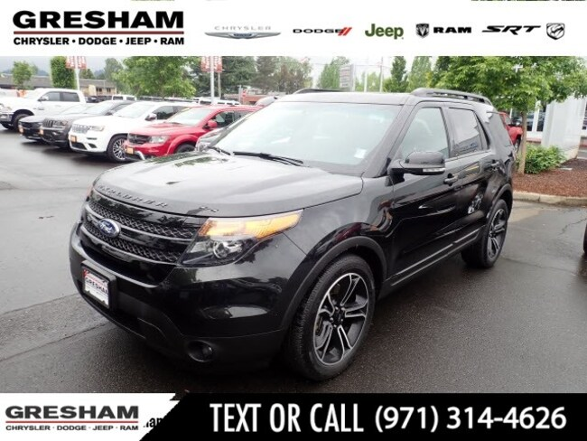 Used 2015 Ford Explorer Sport AWD Sport  SUV Near Vancouver WA