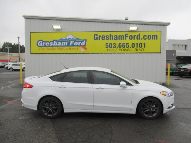 2018 Ford Fusion Customized and Lowered Sedan