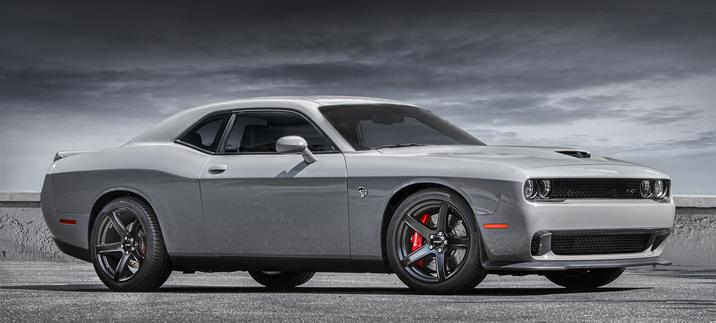 2017 Dodge Challenger Exterior Side View
