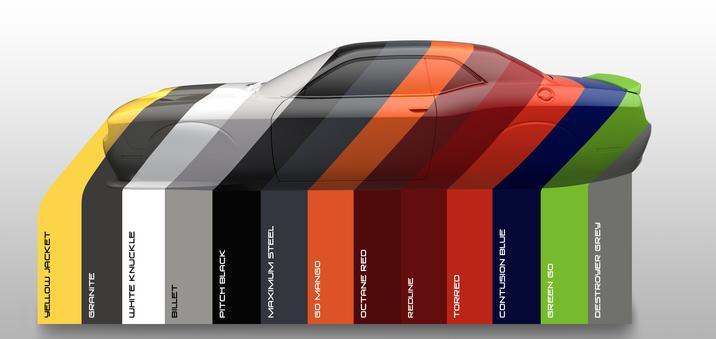 2017 Dodge Heritage Color Options