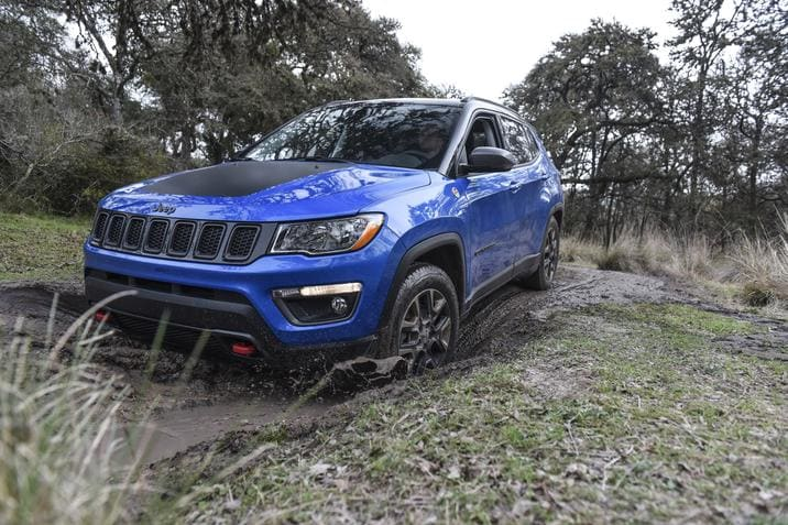 2018 jeep models. fine jeep 2018 jeep compass blue front exterior for jeep models