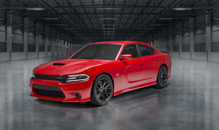2018 Dodge Charger Super Scat Pack Front Red Exterior