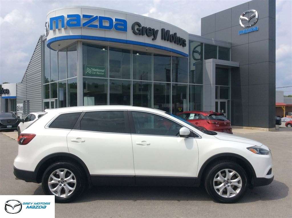 2013 Mazda CX 9 GS, Heated Leather, Sunroof, 7 Passenger SUV