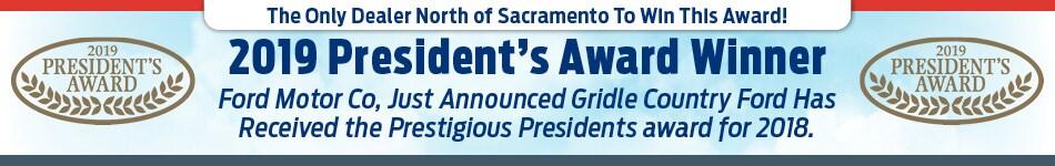 2019 Presidents Award Winner