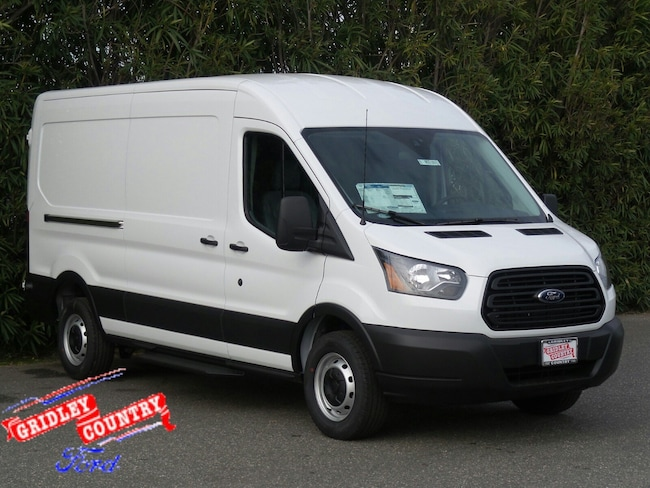 2019 Ford Transit Van 250 MR T-250 148 Med Rf 9000 GVWR Sliding RH Dr