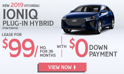 New 2019 Hyundai Ioniq Plug-In Hybrid