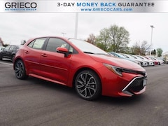 New 2019 Toyota Corolla Hatchback XSE Hatchback for sale in East Providence