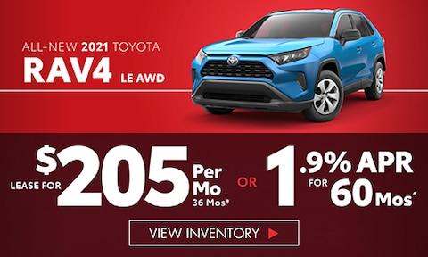 All-New 2021 Toyota RAV4