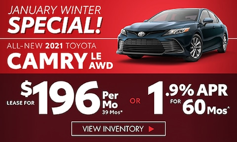 All New 2021 Toyota Camry